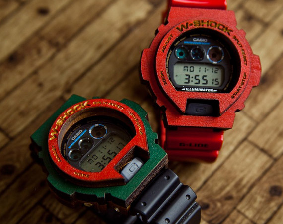 Hodinky  Casio G- Shock  Wood Shock da83356565e