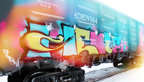 Graffiti profil Hents