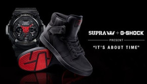 SUPRA X G-SHOCK – ITS ABOUT TIME PACK