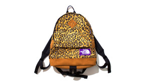 The North Face Purple Label leopard