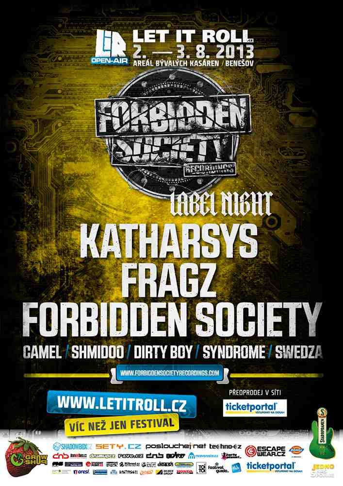 Forbidden Society Night stage