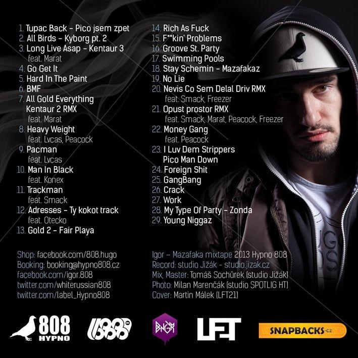 Igor Mixtape TRacklist
