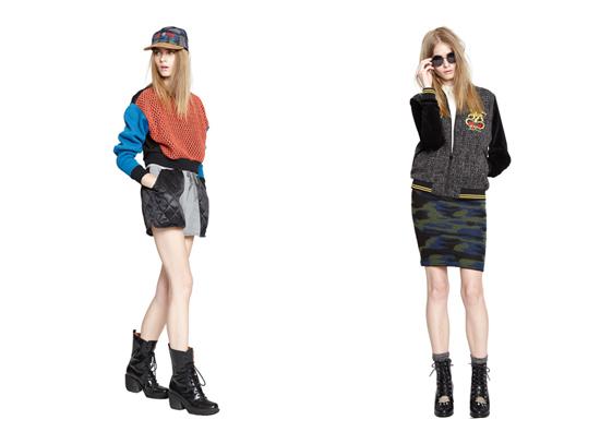 Stussy s dámskou kolekcí pro podzim a zimu 2013
