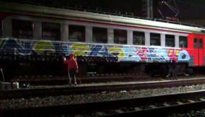 Igor Dandy graffiti video