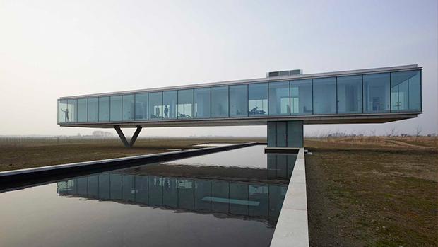 Propojení moderní architektury s přírodou
