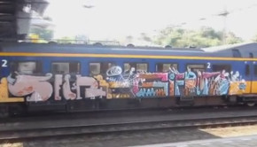 graffiti video Benching 2013