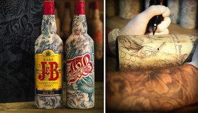 J & B whisky & Sébastien Mathieu