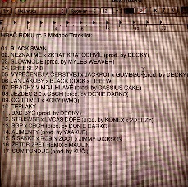 logon tracklist