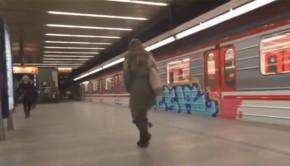 praha graffiti metro