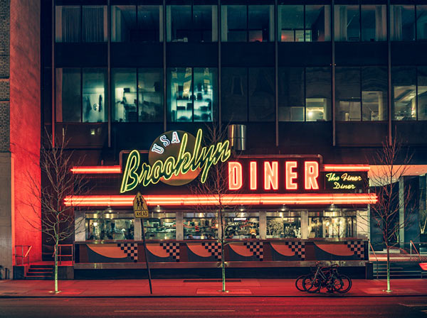 USA-Brooklyn-Diner