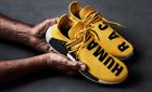 Další sneakers od Pharrella? To jsou žluté NMD Human Race