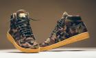 Maskáčové kotníkové boty od adidas